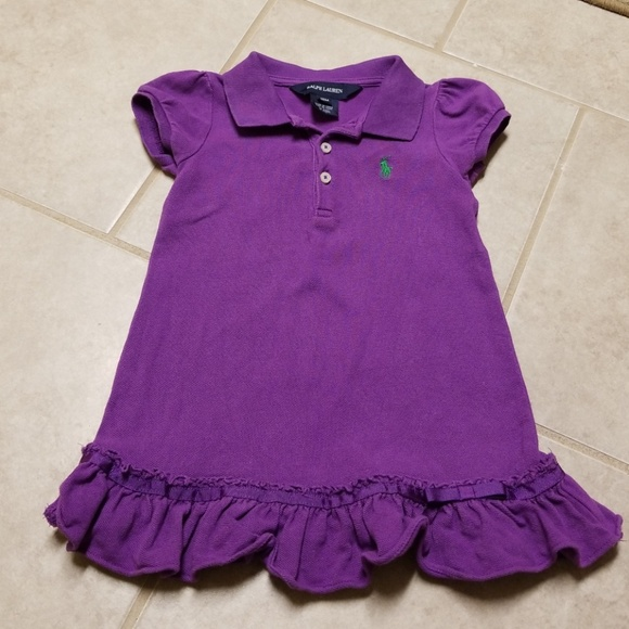 Polo By Ralph Lauren Dresses Baby Girl Polo Dress Poshmark